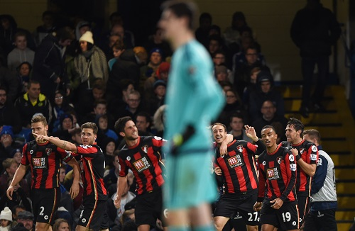 ự trở lại của Courtois vẫn không thể giúp Chelsea có kết quả tốt hơn. Ảnh: Reuters.