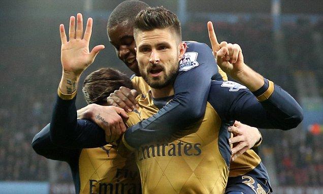 Aston Villa v Arsenal