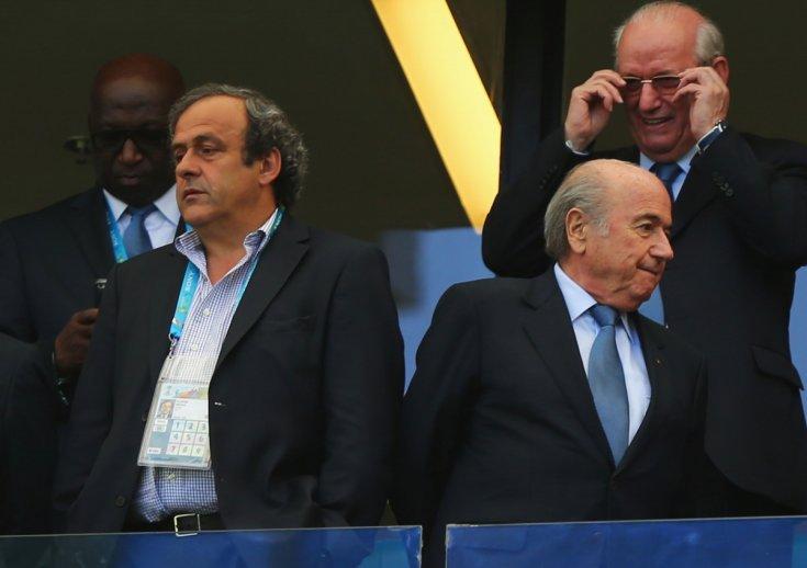 Sepp Blatter - Michel Platinitham