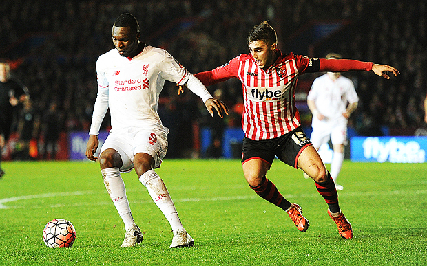 Exeter City v Liverpool, Great Britain - 8 Jan 2016