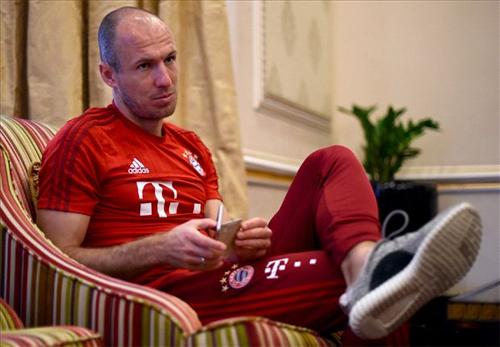 Robben giành được phiếu duy nhất cho vị trí số một.