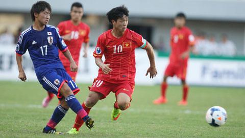 Tại vòng loại, U23 Việt Nam thua U23 Nhật Bản 0-2.