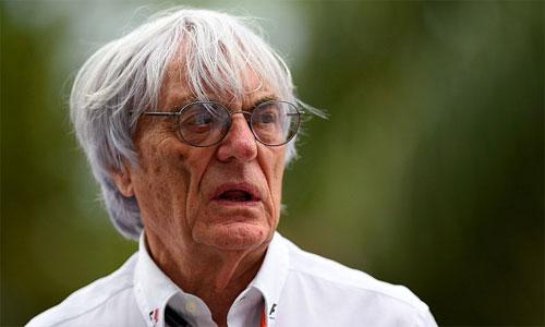 Bernie Ecclestone trông đợi một đường đua giàu sự cạnh tranh hơn. Ảnh: AFP.