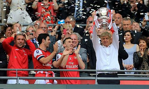Chiếc Cup FA 2014 giúp Wenger giải cơn khát danh hiệu kéo dài từ 2005, và thuyết phục ban lãnh đạo Arsenal tiếp tục đặt niềm tin vào ông.