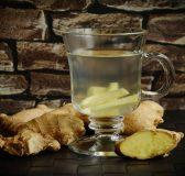 Uống trà gừng giảm đau đầu
