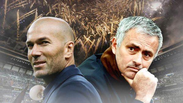Zidane sẵn sàng thay Mourinho