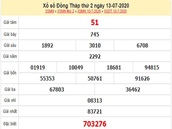 Dự đoán KQXSDT- xổ số đồng tháp thứ 2 ngày 20/07 hôm nay