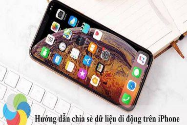 Cách chia sẻ 3G làm Wifi trên iPhone cực đơn giản