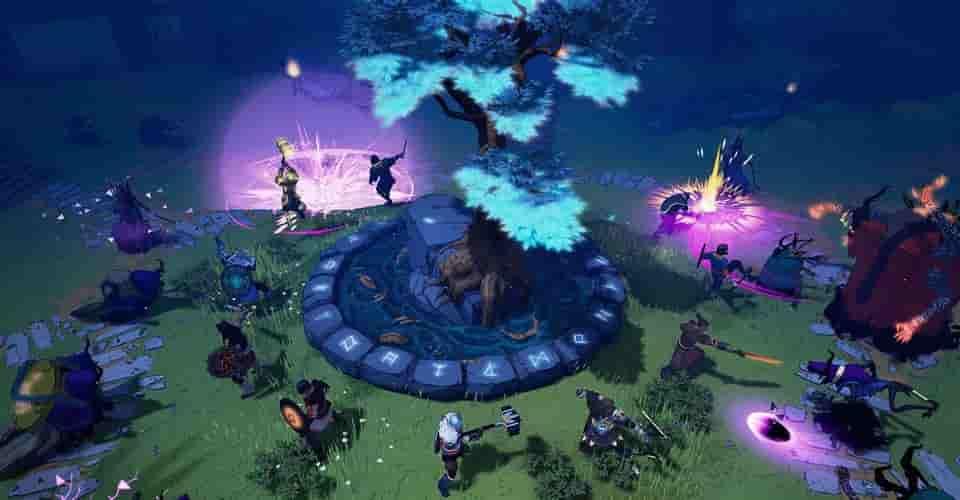 Cách thiết kế nghệ thuật của Tribes Of Midgard kết hợp các yếu tố trong truyện tranh